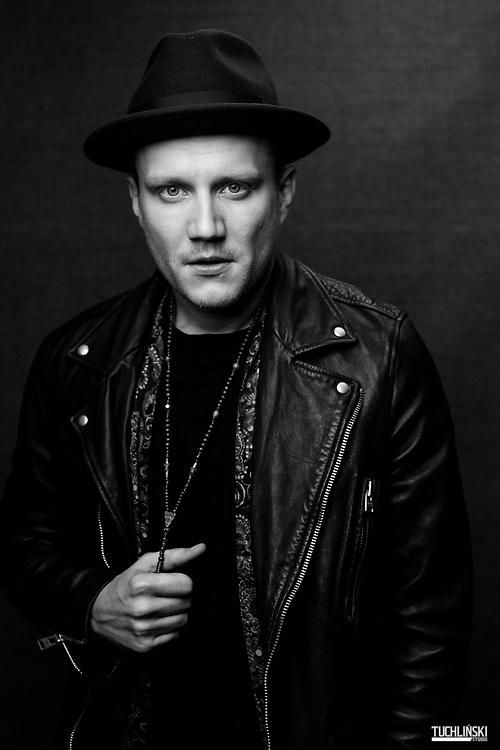 """Warszawa, Polska. 06.03.2019r."""" Mrozu """" Łukasz Mróz - piosenkarz , producent muzyczny, kompozytor i autor tekstow.<br /> Fot. Adam Tuchliński dla Playboy"""