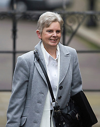 © London News Pictures. 22/11/2011. London, UK.  MARGARET WATSON, whose daughter Diane was stabbed to death arriving at The Royal Courts of Justice today (22/11/2011) to give evidence at the Leveson Inquiry into press standards. The inquiry is being lead by Lord Justice Leveson and is looking into the culture, and practice of the UK press. The Leveson inquiry, which may take a year or more to complete, comes after The News of The World Newspaper was closed following a phone hacking scandal. Photo credit : Ben Cawthra/LNP
