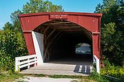 Hollowell Bridge; Photograph of the Bridges of Madison County, Winterset, Iowa, USA.