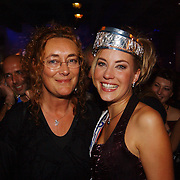 Verkiezing Miss Nederland 2003, met moeder