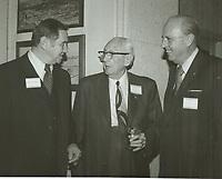 1971 (L to R) Councilman Robert Stevenson, C.E. Toberman and Vern Farquhar
