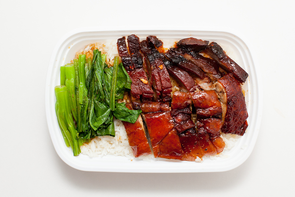 Roast Pork and Duck over rice from Sang Kee Peking Duck House ($14.72) - Delivery