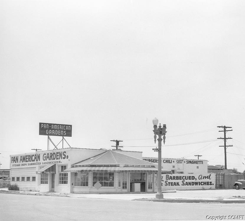 1945 Pan American Gardens Restaurant on Washington Blvd.