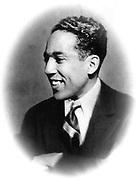 (James Mercer) Langston Hughes (1902-1967) African American/Caucasian poet, playwright writer and columnist.
