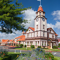 The Rotorua Visitor Center was once, since 1914, Rotorua's Post Office.