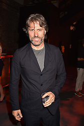 """John Bishop at """"Hoping For Palestine"""" Benefit Concert For Palestinian Refugee Children held at The Roundhouse, Chalk Farm Road, England. 04 June 2018."""