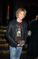 SAM BRANSON at a launch party for Kraken Opus's new luxury sports books held at Sketch, 9 Conduit Street, London W1 on 22nd February 2006.<br />