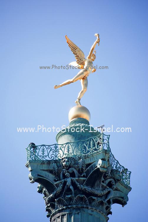 France, Paris, Place de la Bastille Colonne de Juillet