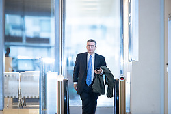 September 30, 2018 - Birmingham, West Midlands, UK - Birmingham, UK. Labour Deputy Leader TOM WATSON arrives at BBC Birmingham for the Marr Show . Day 1 of the Conservative Party conference at the ICC in Birmingham  (Credit Image: © Joel Goodman/London News Pictures via ZUMA Wire)