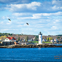 Portsmouth Harbor Light, NH. <br /> <br /> All Content is Copyright of Kathie Fife Photography. Downloading, copying and using images without permission is a violation of Copyright.