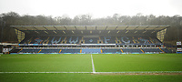 A general view of Adams Park, home of Wycombe Wanderers<br /> <br /> Photographer Kevin Barnes/CameraSport<br /> <br /> The EFL Sky Bet League Two - Wycombe Wanderers v Blackpool - Saturday 11th March 2017 - Adams Park - Wycombe<br /> <br /> World Copyright © 2017 CameraSport. All rights reserved. 43 Linden Ave. Countesthorpe. Leicester. England. LE8 5PG - Tel: +44 (0) 116 277 4147 - admin@camerasport.com - www.camerasport.com
