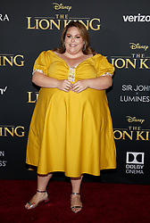 Chrissy Metz at the World premiere of 'The Lion King' held at the Dolby Theatre in Hollywood, USA on July 9, 2019.