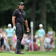 Phil Mickelson in action during the second round of theThe Barclays Golf Tournament at The Ridgewood Country Club, Paramus, New Jersey, USA. 22nd August 2014. Photo Tim Clayton
