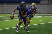 Team TOA quarterback Nicholaus Iamaleava Jr, during a football game against Team Elite, Friday, Jan. 8, 2021, in Bullhead City, Ariz. (Dylan Stewart/Image of Sport)