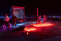 Drones after the big show - I'm not sure if it was the same people who did it as previous years (StudioDrift) but their openness and community involvement was 100x better this year than the wall in the past. Props! - https://Duncan.co/Burning-Man-2021