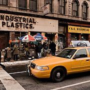 Taxi Cab in Harlem