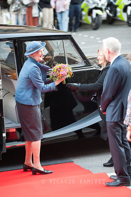 06.10.2020. Copenhagen, Denmark.<br /> Queen Margrethe's arrival to Christiansborg Palace for attend the opening session of the Danish Parliament (Folketinget).<br /> Photo: © Ricardo Ramirez