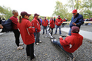 Brighton, USA,   Community Rowing Inc. Corporate rowing event, held at the CRI. <br /> . <br /> Charles River, Boston, Massachusetts<br /> Wednesday   14/10/2009  [Mandatory Credit Peter Spurrier Intersport Images]