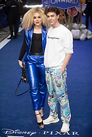 Tallia Storm, Stevie Ruffs at the 'Onward' film premiere, Curzon Mayfair, London, UK - 23 Feb 2020 photo by Brian Jordan