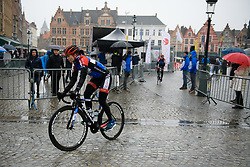 Eileen Roe (GBR) at Driedaagse Brugge - De Panne 2018 - a 151.7 km road race from Brugge to De Panne on March 22, 2018. Photo by Sean Robinson/Velofocus.com