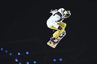 BILDET INNGÅR IKKE I NOEN FASTAVTALER. ALL NEDLASTING BLIR FAKTURERT.<br /> <br /> Snowboard<br /> Foto: imago/Digitalsport<br /> NORWAY ONLY<br /> <br /> 11th November 2017, Milan, Italy; Big Air FIS Snowboard World Cup; Silje Norendhal (NOR) PUBLICATIONxINxGERxSUIxAUTxHUNxSWExNORxDENxFINxONLY ActionPlus11950176