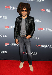 December 9, 2018 - New York City, New York, U.S. - Singer LENNY KRAVITZ attends the 12th Annual CNN Heroes: An All-Star Tribute held at the American Museum of National History. (Credit Image: © Nancy Kaszerman/ZUMA Wire)