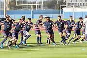 USA Mens National Team performing team drills during training camp, Friday, Jan. 10, 2020, in Bradenton, Fla. (Kim Hukari/Image of Sport)