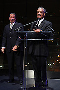 """15 November 2010- New York, NY-l to r:  New York State Governor David Paterson and Rev. Al Sharpton at The National Action Network's 1st Annual Triumph Awards honoring """"Our Best"""" in the Arts, Entertainment, & Sports held at Jazz at Lincoln Center on November 15, 2010 in New York City. Photo Credit: Terrence Jennings"""