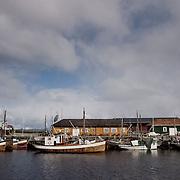 Three weeks aboard the Kong Harald. Hurtigruten, the Coastal Express. The city of Trondheim. Sor-Trondelag.