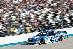 October 7, 2018 - Dover, DE, U.S. - DOVER, DE - OCTOBER 07: Ricky Stenhouse Jr driver of the #17 SunnyD Ford lead for 7 laps in the Gander Outdoors 400 on October 07, 2018, at Dover International Speedway in Dover, DE. (Photo by David Hahn/Icon Sportswire) (Credit Image: © David Hahn/Icon SMI via ZUMA Press)