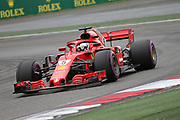 © Photo4 / LaPresse<br /> 13/04/2018 Shanghai, China<br /> Sport <br /> Grand Prix Formula One China 2018<br /> In the pic: free Practice 1, Sebastian Vettel (GER) Scuderia Ferrari SF71H<br /> <br /> © Photo4 / LaPresse<br /> 13/04/2018 Shanghai, China<br /> Sport <br /> Grand Prix Formula One China 2018<br /> In the pic: free Practice 1, Sebastian Vettel (GER) Scuderia Ferrari SF71H