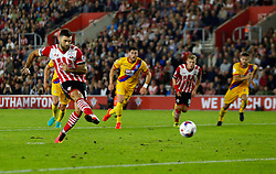 File photo dated 21-09-2016 of Southampton's Charlie Austin scores their first goal from the penalty spot during the EFL Cup, Third Round match against Crystal Palace.