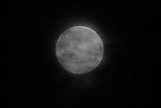 Full Moon, cloud