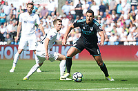 Football - 2016 / 2017 Premier League - Swansea City vs. West Bromwich Albion<br /> <br /> Jake Livermore of W.B.A. attacks, at Liberty Stadium.<br /> <br /> COLORSPORT/WINSTON BYNORTH