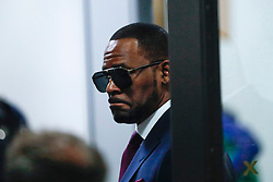 R&B superstar R. Kelly arrives at the Daley Center in Chicago, IL, USA, to attend a closed-door hearing in a court fight with his ex-wife over child support on Wednesday, March 13, 2019. Photo by Jose M. Osorio/Chicago Tribune/TNS/ABACAPRESS.COM