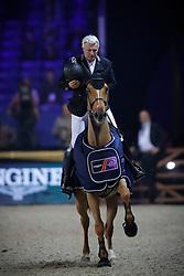 Bost Roger Yves, FRA, Sydney Une Prince<br /> WC Pony - Cavalor<br /> Vlaanderens Kerstjumping Memorial Eric Wauters<br /> © Dirk Caremans<br /> 27/12/2016