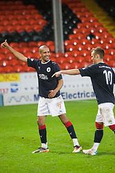 Falkirk's Farid El Alagui. cele beating Utd...Falkirk win on penalties. Dundee Utd 2 v 2 Falkirk. Scottish Communities League Cup, 25/10/2011..Pic © Michael Schofield.