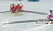 Henley on Thames. United Kingdom.     Finals Day.  Stewards Challenge Cup, Hollandia Roeiclub. NED M4-. Sunday. 03.07. 2016 Henley Royal Regatta, Henley Reach.   [Mandatory Credit; Intersport Images]