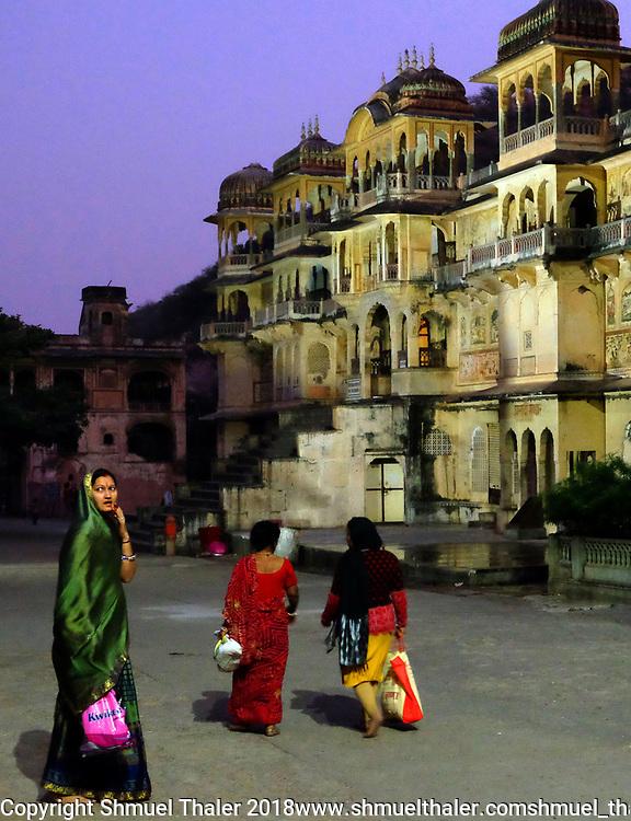 Monkey Temple, Jaipur, India<br /> Photo by Shmuel Thaler <br /> shmuel_thaler@yahoo.com www.shmuelthaler.com