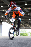 #4 (HARMSEN Joris) NED at Round 6 of the 2019 UCI BMX Supercross World Cup in Saint-Quentin-En-Yvelines, France