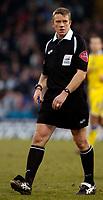 Photo: Alan Crowhurst.<br />Crystal Palace v Cardiff City. Coca Cola Championship. 04/02/2006. <br />Referee Mr A Bates.