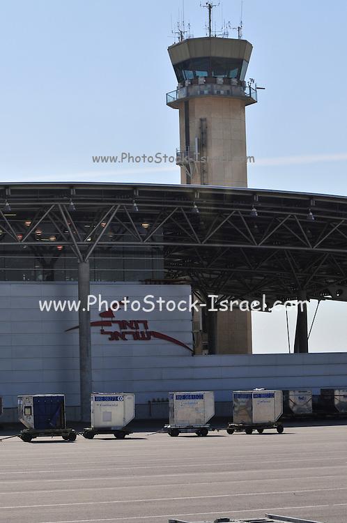 Israel, Ben-Gurion international Airport Israeli Postal Service facility