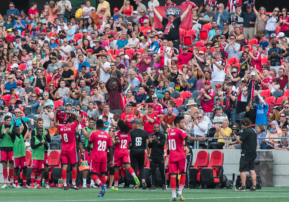 OTTAWA, ON - AUGUST 27: USL match between the Ottawa Fury FC and New York Red Bulls II at TD Place Stadium in Ottawa, ON. Canada on Aug. 27, 2017.<br /> <br /> PHOTO: Steve Kingsman/Freestyle Photography/Ottawa Fury FC