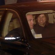 ITA/Bracchiano/20061118 - Huwelijk Tom Cruise en Katie Holmes, aankomst Jim Carrey met partner en model Jenny McCarthy