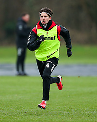 Adam Nagy of Bristol City during a training session ahead of the FA Cup game with Portsmouth - Rogan/JMP - 07/01/2021 - Failand - Bristol, England.