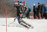 Eastern Cup FIS ladies and mens slalom at Cranmore January 29, 2012.