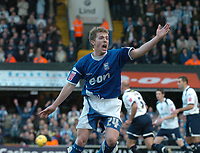 Photo: Ashley Pickering.<br />Ipswich Town v Colchester United. Coca Cola Championship. 20/01/2007.<br />Ipswich's Billy Clarke can't believe it as he has an early goal disallowed for off side