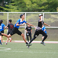 NP (blue) defeated ITE to finish with a 2-3 win-loss record in the POL-ITE Ultimate Championship. (Photo © Les Tan/Red Sports)