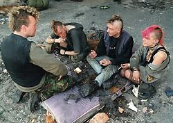 Homeless young people, UK