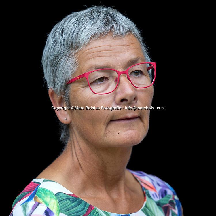 Nederland,  Rosmalen, weduwe  Jose de Valk van Qkoorts slachtoffer Jan Houtepen.